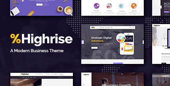 Highrise WordPress Theme free download