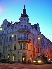 Vintage Helsinki architecture