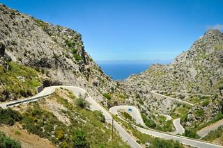 Serpentine in Palma de Mallorca