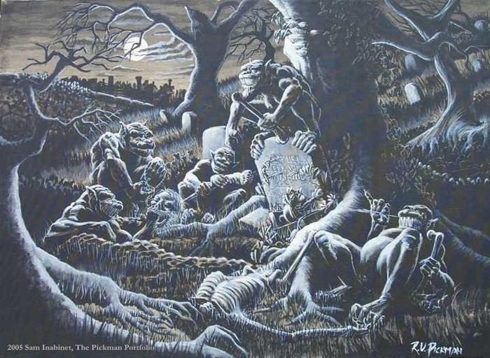 Origem de um assassino mortal e impiedoso: Os Ghouls