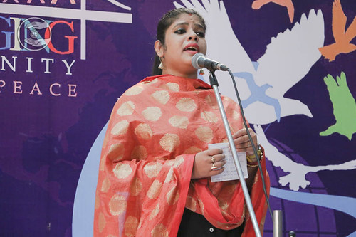 Devotional song by Elina Priydarshini from Bhubneshwar, Odisha