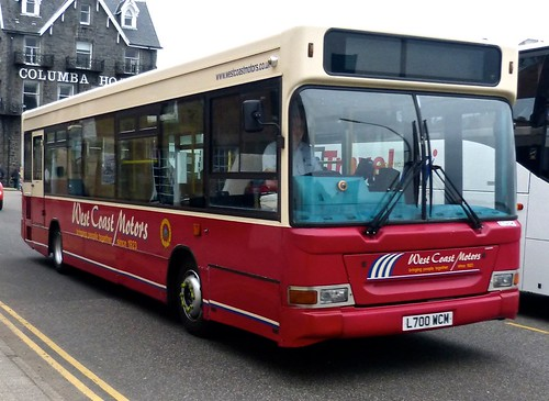 L700 WCM 'West Coast Motors' No. 10406 Dennis Dart SLF / Plaxton Pointer on Dennis Basford's railsroadsrunways.blogspot.co.uk