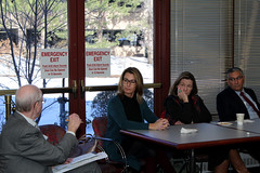 Rep. Klarides participated in the Annual Jewish Community Relations Council of Greater New Haven legislative breakfast.