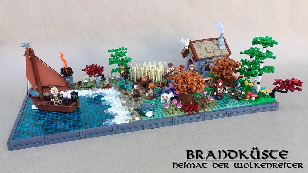 Brandküste (custom built Lego model)