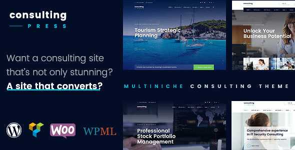 ConsultingPress WordPress Theme free download
