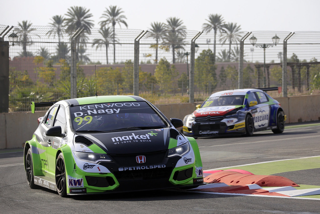 99 NAGY Daniel (hun) Honda Civic team Zengo Motorsport action during the 2017 FIA WTCC World Touring Car Race of Morocco at Marrakech, from April 7 to 9 - Photo Paulo Maria / DPPI