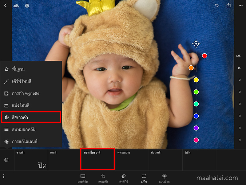 Lightroom Baby Tone