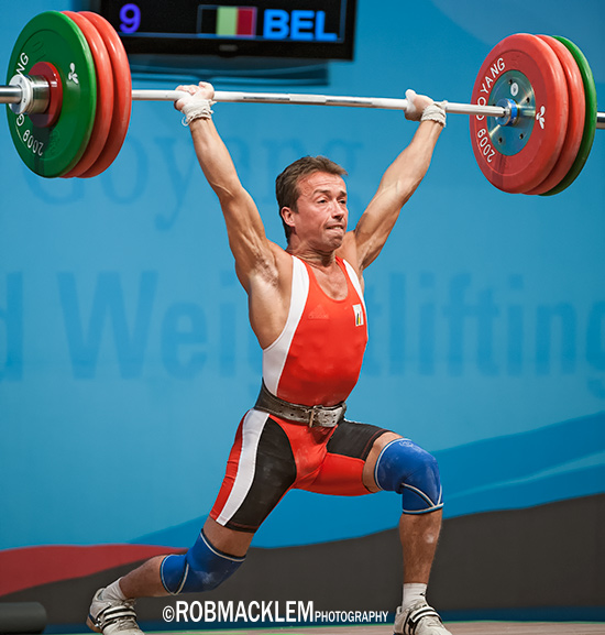 Tom Goegebuer  BEL Olympic  weightliter