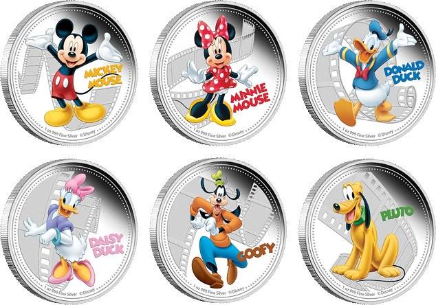 Niue Disney Silver Coins