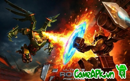 Ultimate Robot Fighting v1.0.42 hack full cho Android