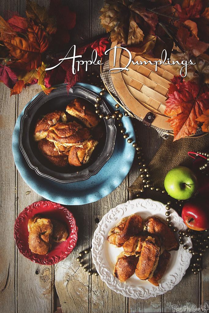 Apple Dumpling Recipe ||PasstheSushi.com