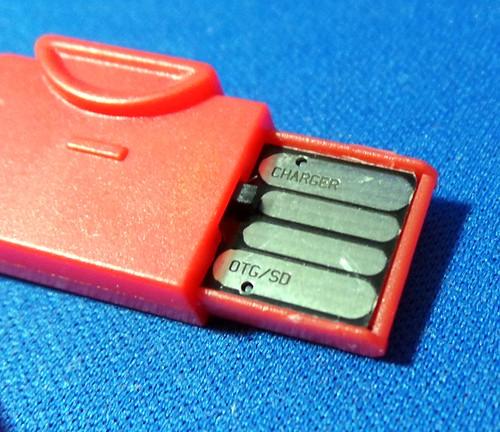ASCII smartphone adapter