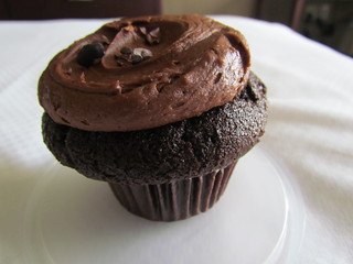 Vegan Chocolate Cupcake from Cupcake Royale (Downtown)