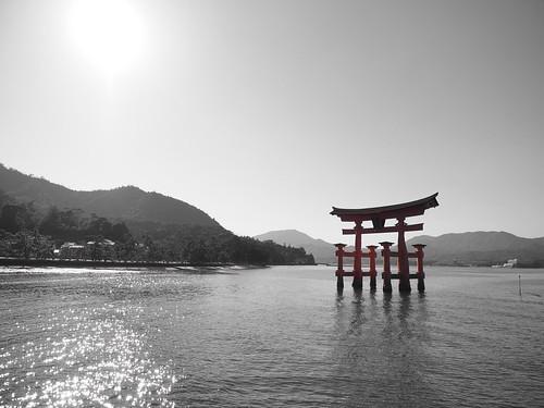 厳島神社 大鳥居