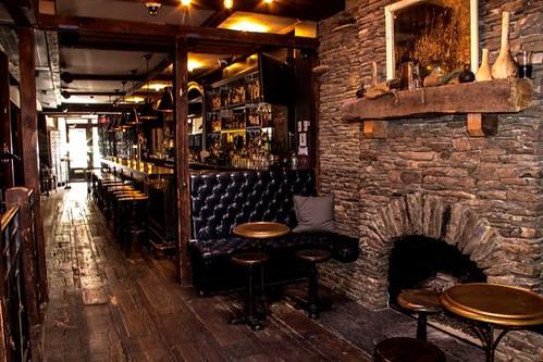 The Lodge Club Fireplace