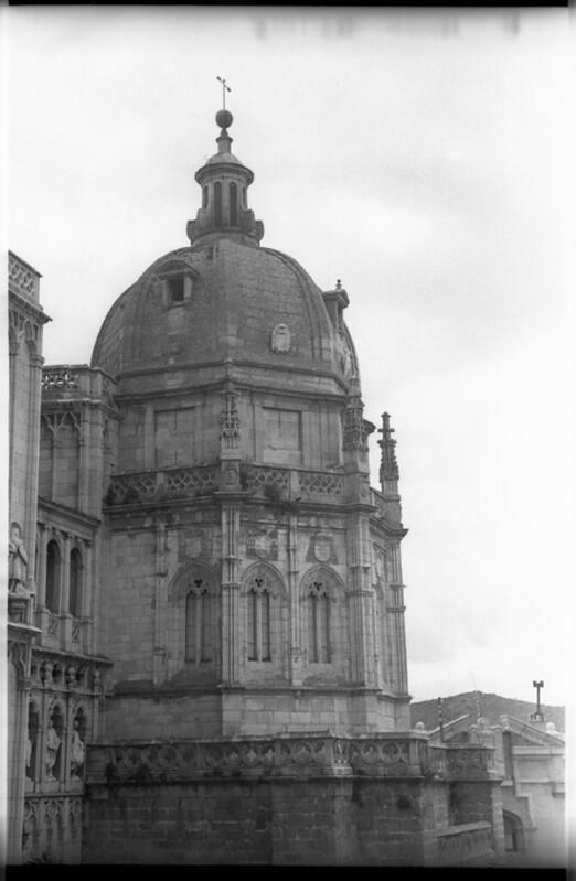 Cúpula de la capilla mozárabe de la Catedral en Toledo a mediados del siglo XX. Fotografía de Roberto Kallmeyer © Filmoteca de Castilla y León. Fondo Arqueología de Imágenes