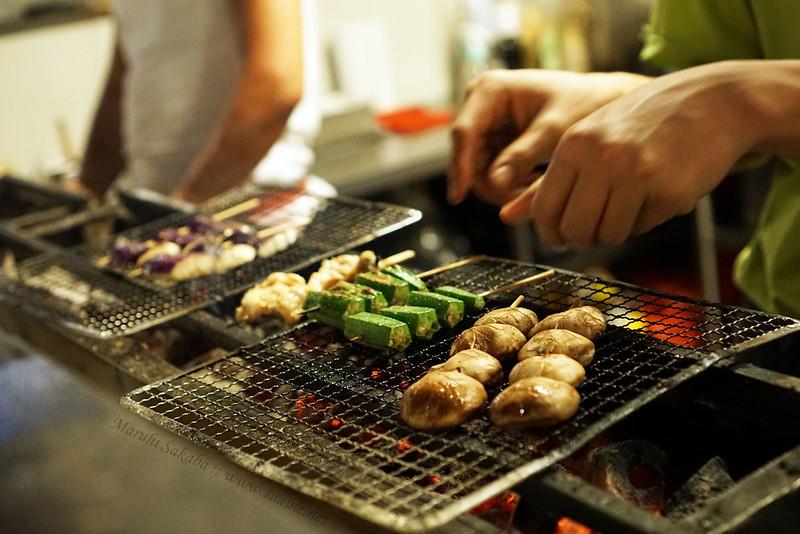 Maruhi Sakaba, Taman Desa - on the grill