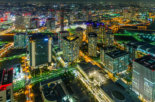 city nightphotography japan night landscape cityscape nightscape pentax yokohama 夜景 横浜 k5 みなとみらい pentaxk5