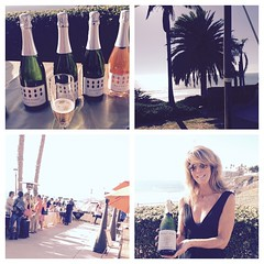 Tasting #Bubbles at @SeaCrest_Pismo for the #pressevent #ShareSLO #beautifulday #Bubblestasting @bubblyfest #bubblyfest