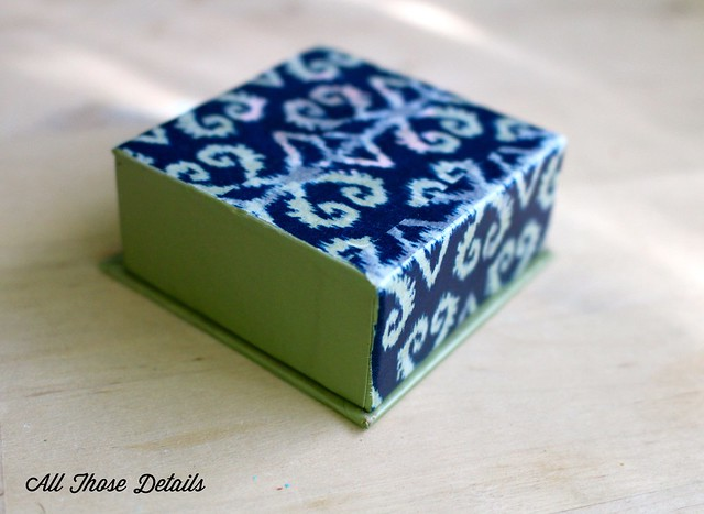 Powder Box with washi tape
