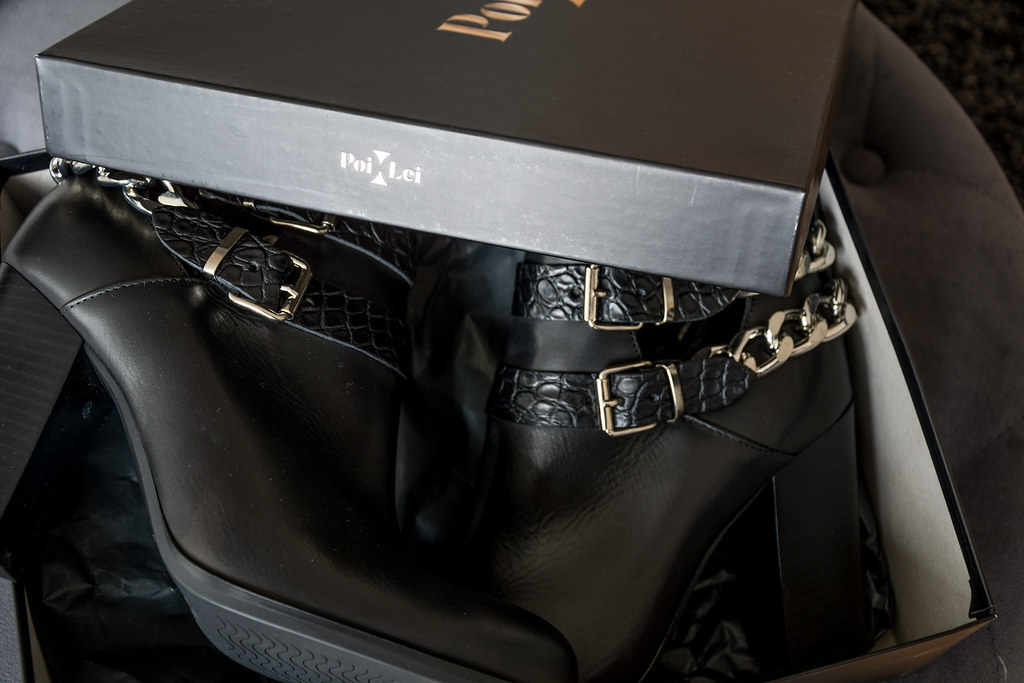 Biker Boots by Poi Lei made in Italy