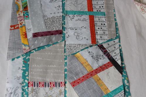 Washi patchwork Fortschritte