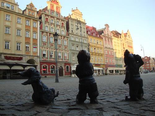 Гноми на площі Ринок