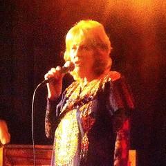 """Lena Junoff, """"Primadonnan från Hisingen"""", releaseparty på Södrsn bar."""