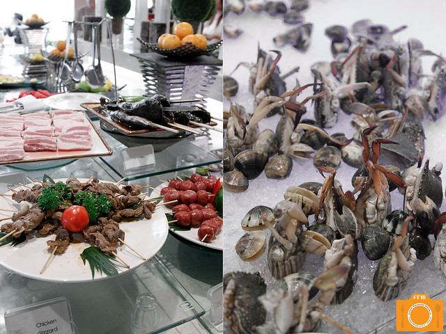 Sabroso grill and seafood station