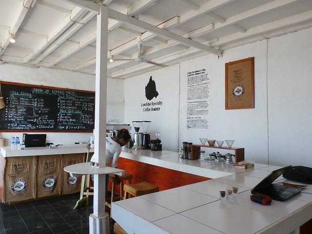 東ティモールのカフェ