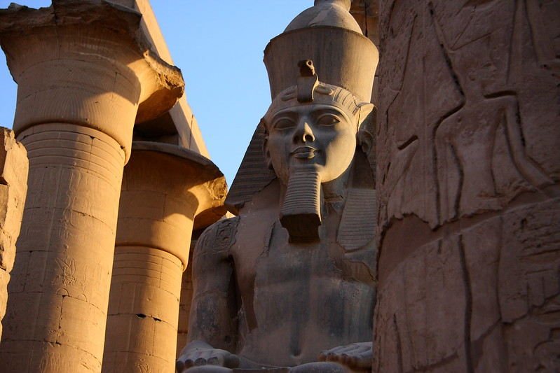 Ramese II At Luxor Temple