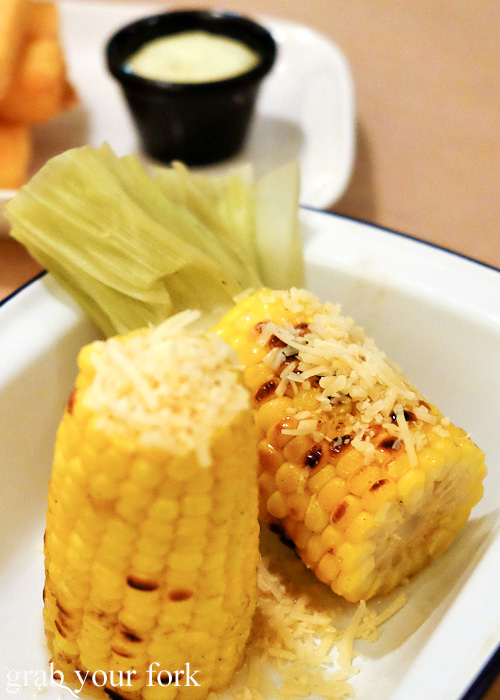 Grilled corn cob at Pub Life Kitchen, Ultimo