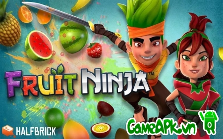 Fruit Ninja v2.2.3 hack full cho Android