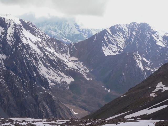 The Karakol range of mountains