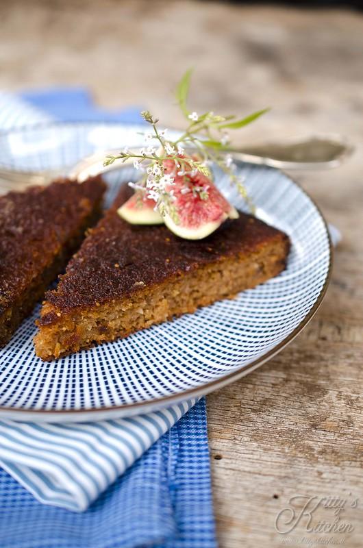 torta ai fichi freschi, senza glutine2