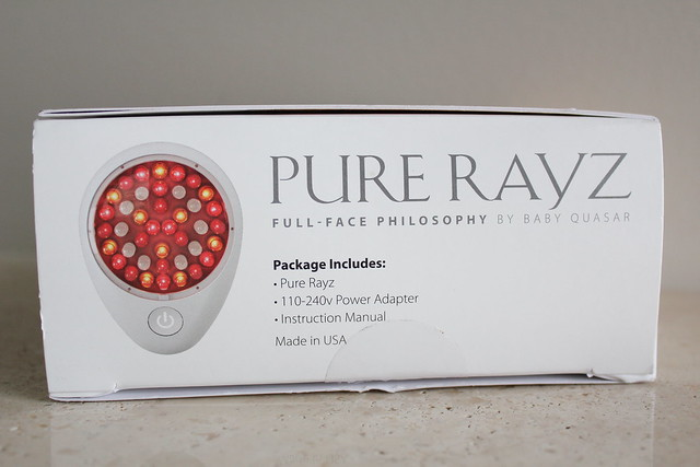 review of Baby Quasar Pure Rayz for Wrinkles