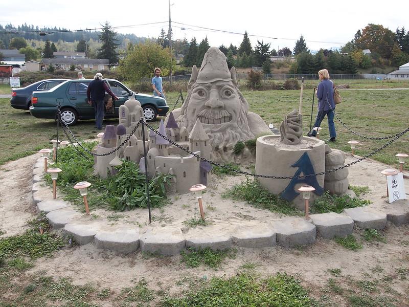 Sand Sculpture: OLYMPUS DIGITAL CAMERA