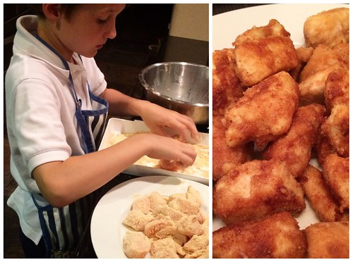Paleo Chicken Nuggets- Kids Cooking