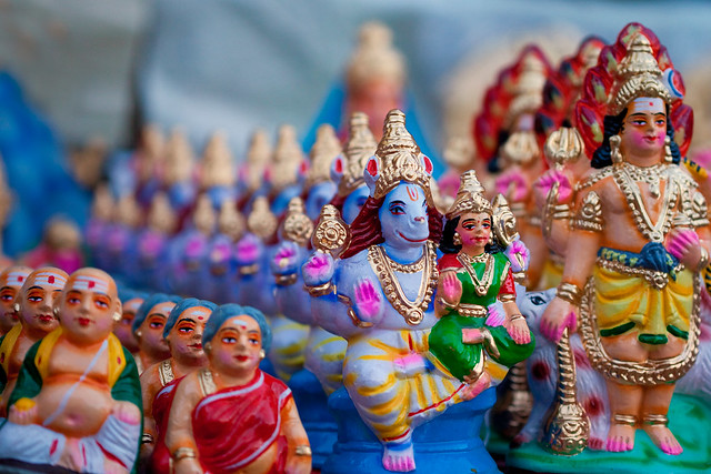Pattern of Gods - Navarathri Golu Dolls