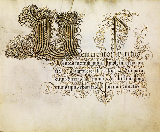 FJ Brechtel calligraphy 16th cent. d