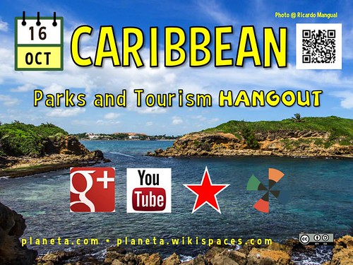 Hang out with us October 16. Caribbean Parks and Tourism Hangout