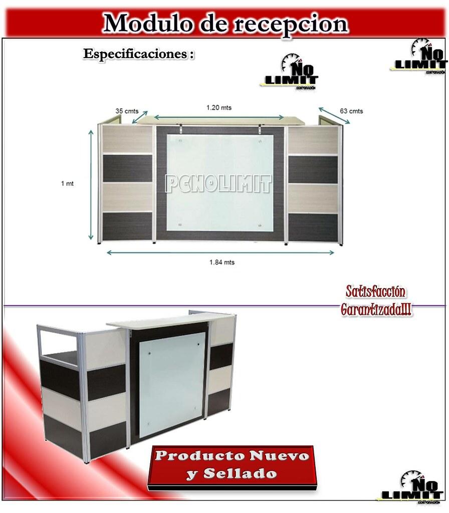 Modulo de recepcion fendi oficina escritorio caja for Modulos de oficina precios
