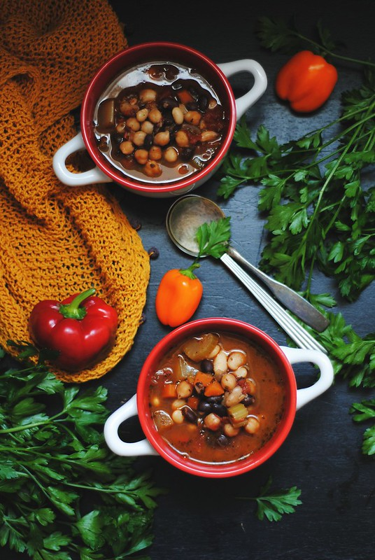 3 Bean Chili - vegan