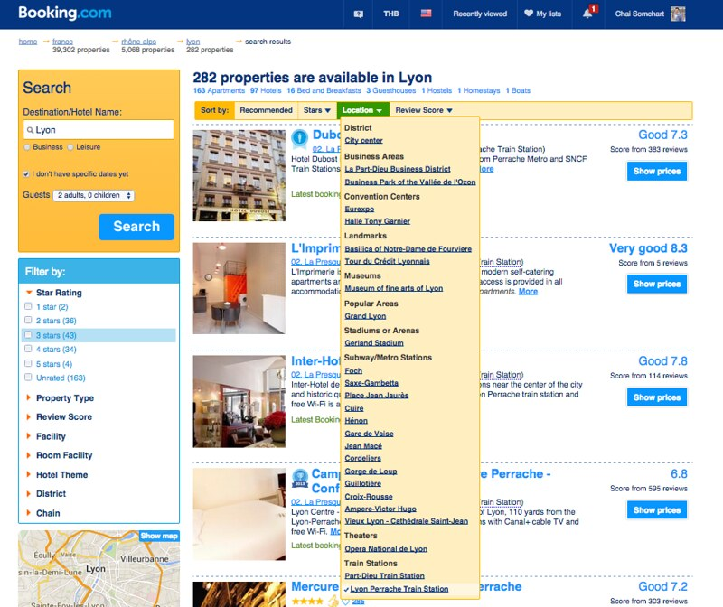 hotel booking in Lyon