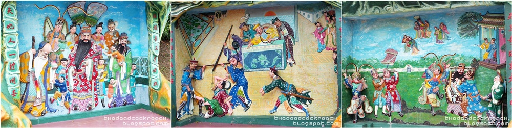 aw boon haw, aw boon par, chinese values, folklore, haw par villa, mythology, sculptures, statues, ten courts of hell, tiger balm, tiger balm garden, 虎豹别墅, singapore, where to go in singapore,diorama,fu lu shou,legend of kang xi,legend of su qin
