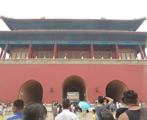 Beijing-Cité Interdite-Porte du Génie Militaire (1)