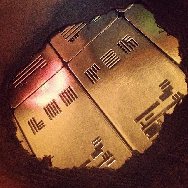 Hand made Looper Score Vinyl package #nathanjohnson #rianjohnson #looper #mondo #vinyl #timetravel #scifi #brucewillis #josephgordonlevitt