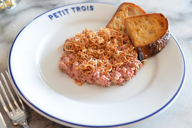 Steak Tartare fried shallot