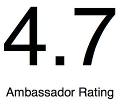 Ambassador Rating