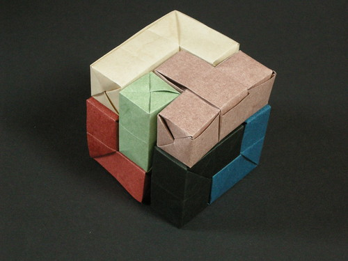 Soma cube by Once